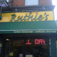 Photo taken at Ruthie's Restaurant of Brooklyn by Donnie D. on 4/15/2012