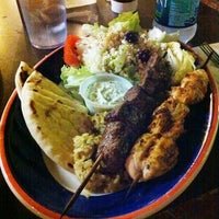 Photo taken at Papouli's Greek Grill by Broadway Jay on 2/27/2012