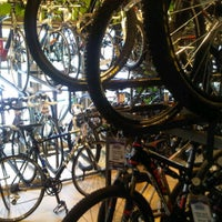 Photo taken at Mike's Bike Shop by Mike K. on 5/23/2012