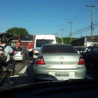 Photo taken at Avenida Guarapiranga by Wellington S. on 8/23/2012