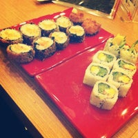 Photo taken at Temakeria Makis Place by Monica A. on 5/21/2012