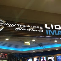 Photo taken at Shaw Theatres by Don M. on 7/6/2012