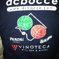 Photo taken at DC Bocce Premier League @ Vinoteca by Gautam C. on 5/1/2012