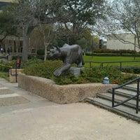 Photo taken at University of Houston by Robert K. on 2/28/2012