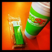 Photo taken at Boost Juice Bars by Ib S. on 8/10/2012
