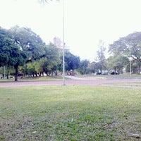 Photo taken at Praça Libanesa by Jair A. on 5/5/2012