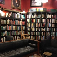 Photo taken at Battery Park Book Exchange And Champagne Bar by Ema M. on 7/12/2012