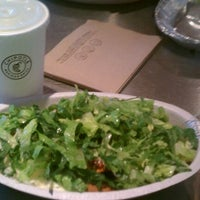 Photo taken at Chipotle Mexican Grill by Megan V. on 5/30/2012