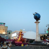 Photo taken at Official Fan Zone of UEFA EURO 2012 by Stephen F. on 7/2/2012