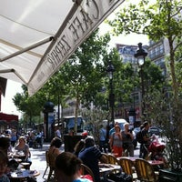 Photo taken at Café Zéphyr by Fabio P. on 8/4/2012