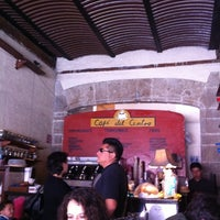 Photo taken at Café del Centro by Diego G. on 2/18/2012