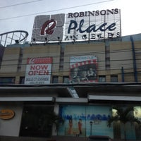 Photo taken at Robinsons Place Angeles by Bradz on 6/10/2012
