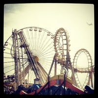 Photo taken at Morey's Piers and Beachfront Waterparks by Alison on 2/21/2012