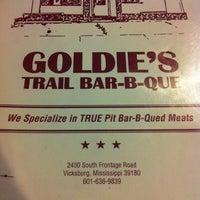 Photo taken at Goldies Trail BBQ by Mitch B. on 6/5/2012