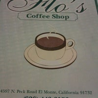 Photo taken at Flo's Coffee Shop by Venissa V. on 7/1/2012