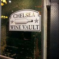 Photo taken at Chelsea Wine Vault by Jae E. on 3/4/2012