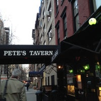 Photo taken at Pete's Tavern by JoAnna S. on 3/7/2012