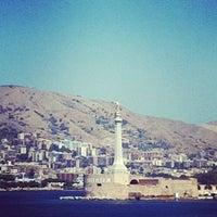 Photo taken at Porto di Messina by Florid V. on 8/29/2012