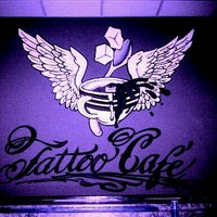 Photo taken at Tattoo Cafe by Eugene C. on 2/18/2012