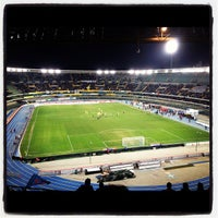 Photo taken at Stadio Marc'Antonio Bentegodi by Aurora P. on 3/9/2012
