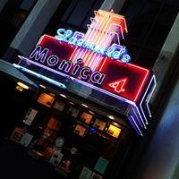 Photo taken at Laemmle's Monica Fourplex by Anthony C. on 9/7/2012