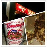 Photo taken at Original Tommy's Hamburgers by @Ruben310 on 5/14/2012