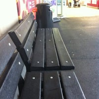 Photo taken at The Bench Outside Sainsburys by Dave F. on 2/17/2012