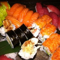 Photo taken at Sushi Palace by Anna Maria V. on 3/17/2012