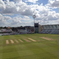 Photo taken at Trent Bridge Cricket Ground by Jon M. on 7/28/2012