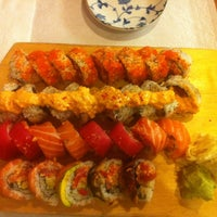 Photo taken at Nizi Sushi by Claire M. on 6/30/2012