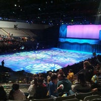 Photo taken at Rushmore Plaza Civic Center Ice Arena by Kerry K. on 3/2/2012