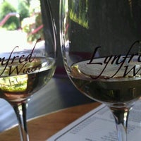 Photo taken at Lynfred Winery by Glorianna E. on 6/2/2012