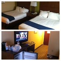 Photo taken at Holiday Inn Express Lapeer by Chad K. on 7/26/2012
