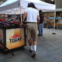 Photo taken at TODAY Show by P D. on 6/7/2012