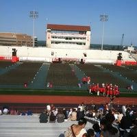 Photo taken at Schoellkopf Field by Jason B. on 5/27/2012