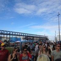 Photo taken at Wynyard Quarter by Mark H. on 3/10/2012