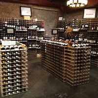 Photo taken at Chelsea Wine Vault by Fernanda C. on 7/31/2012