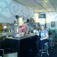 Photo taken at Funky Java by Jessica L. on 8/12/2012