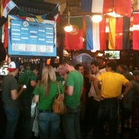 Photo taken at Fadó Irish Pub & Restaurant by Rachel P. on 6/10/2012