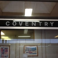 Photo taken at Coventry Railway Station (COV) by Thomas P. on 2/21/2012