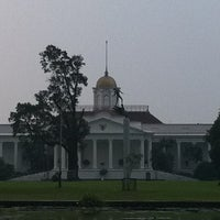 Photo taken at Bogor Palace by Chelsea M. on 7/21/2012