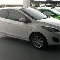 Photo taken at Mazda Phuket by panida p. on 7/13/2012
