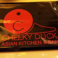 Photo taken at Cheeky Duck Asian Kitchen & Bar by CA T. on 4/29/2012