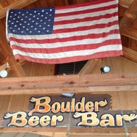 Photo taken at Boulder Beer Bar by Stephanie on 8/13/2012