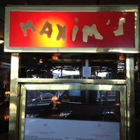 Photo taken at Maxim's by Denis🐸 on 5/26/2012