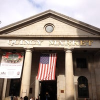 Photo taken at Faneuil Hall Marketplace by Lidiane S. on 6/19/2012