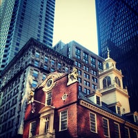 Photo taken at Old State House by Stepan G. on 9/1/2012