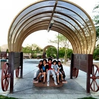 Photo taken at Western Trails Neighborhood Park by Kiki F. on 7/2/2012