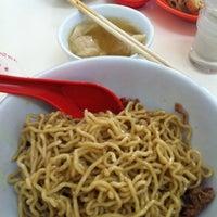 Photo taken at Bakmi Keriting Pematang Siantar by Benny L. on 4/21/2012