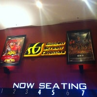 Photo taken at Golden Screen Cinemas (GSC) by 🔻Gafie C. on 3/10/2012